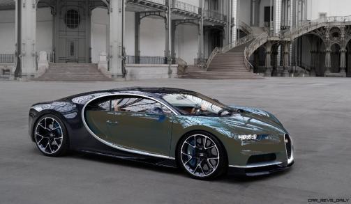 2017 Bugatti CHIRON - Color Visualizer - Draft Renderings 85