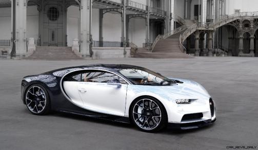 2017 Bugatti CHIRON - Color Visualizer - Draft Renderings 94