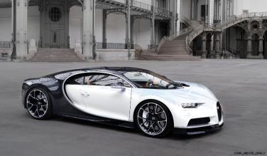 2017 Bugatti CHIRON - Color Visualizer - Draft Renderings 95