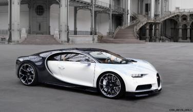 2017 Bugatti CHIRON - Color Visualizer - Draft Renderings 97