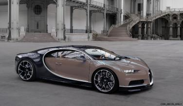 2017 Bugatti CHIRON - Color Visualizer - Draft Renderings 98