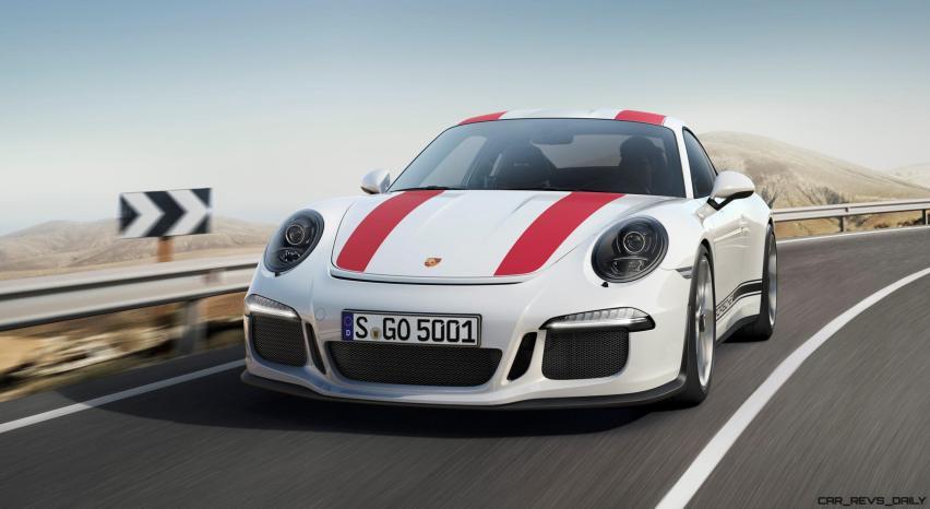 2017 Porsche 911R 1
