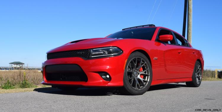HD Road Test Review - 2016 Dodge Charger SRT392 52