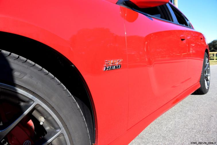 HD Road Test Review - 2016 Dodge Charger SRT392 66