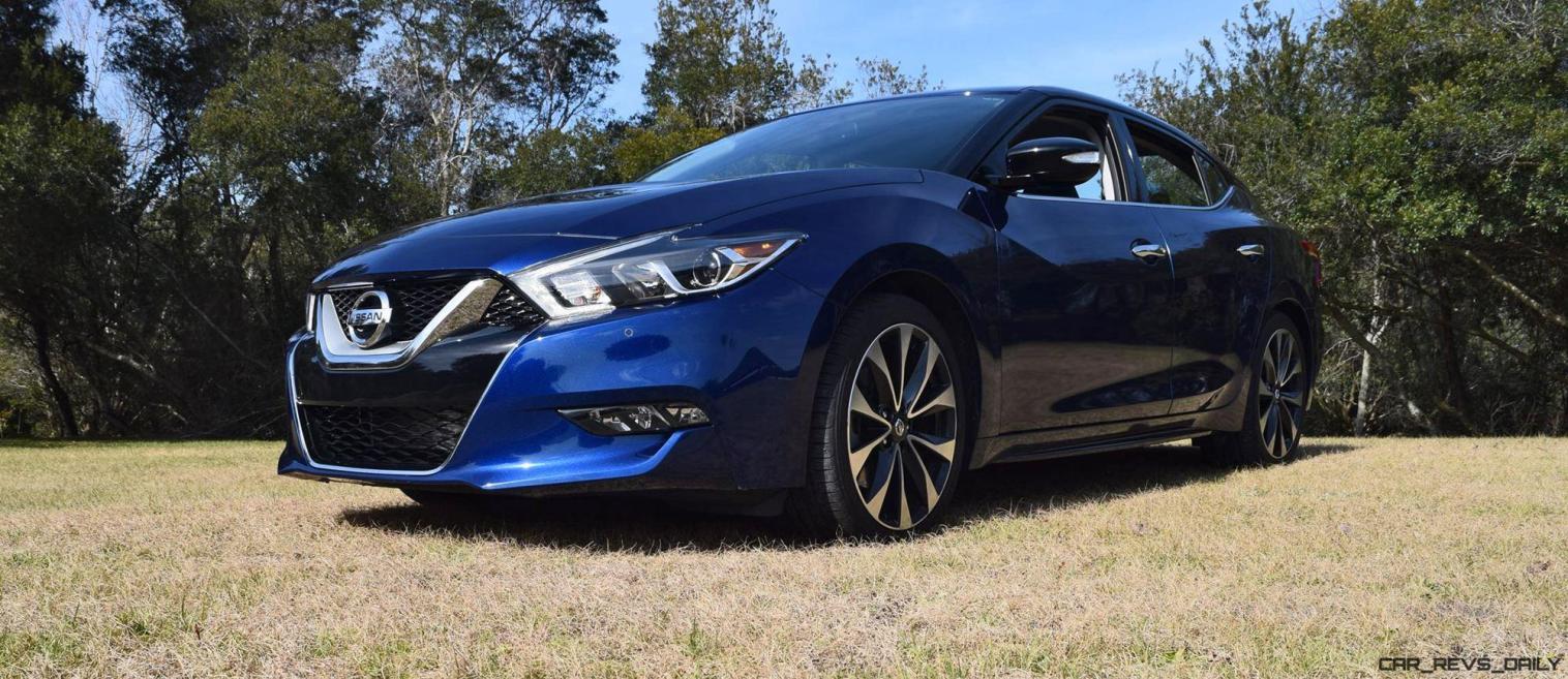 HD Road Test Review - 2016 Nissan Maxima SR 42