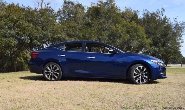 HD Road Test Review - 2016 Nissan Maxima SR 55