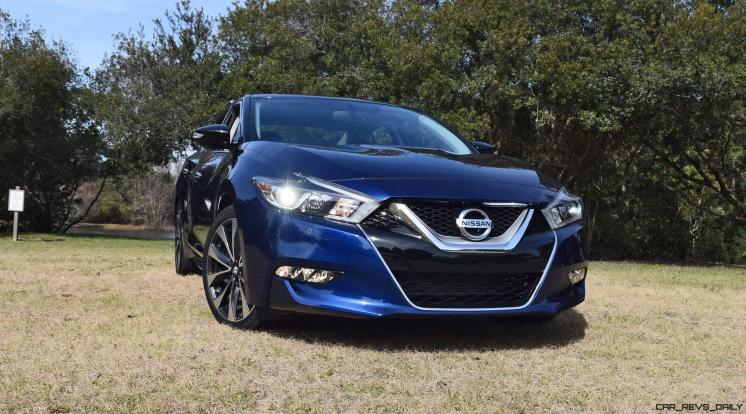HD Road Test Review - 2016 Nissan Maxima SR 63