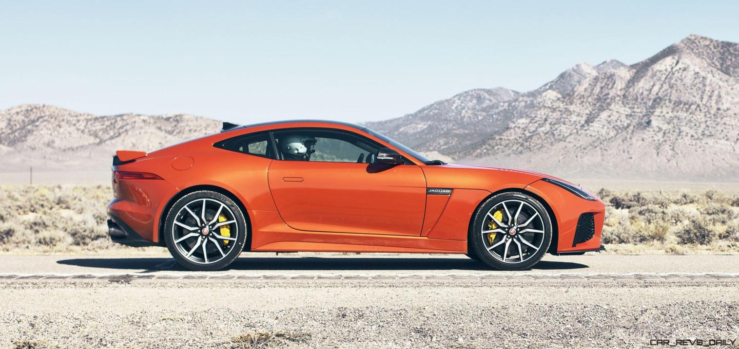 Michelle Rodriguez Roars Past 200MPH in F-Type 12