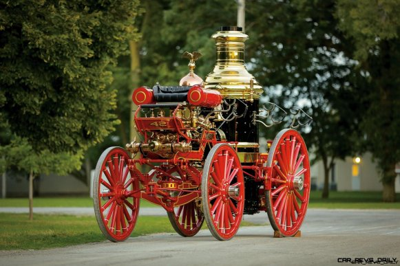 1894 Silsby Fourth Size Horse-Drawn Steam Pumper 9