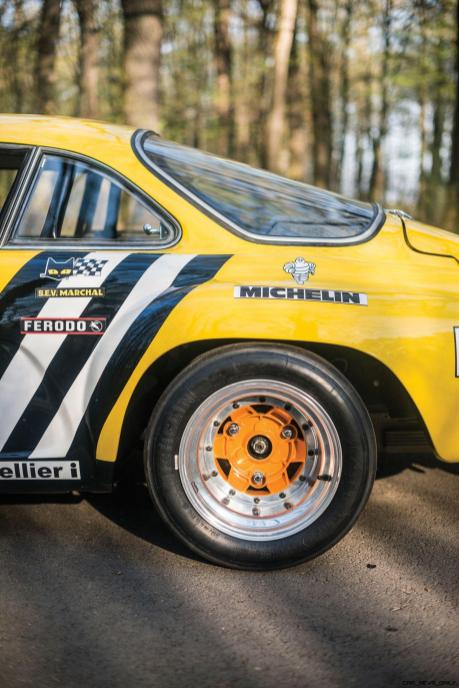 1965 Alpine-Renault A110 in Group 4 Rally Spec 10
