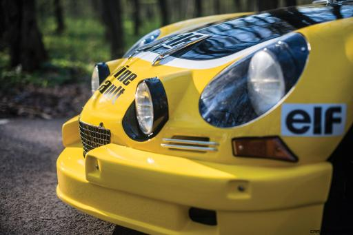 1965 Alpine-Renault A110 in Group 4 Rally Spec 8