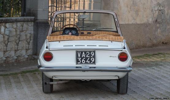 1970 Fiat 850 Spiaggetta by Michelotti 13