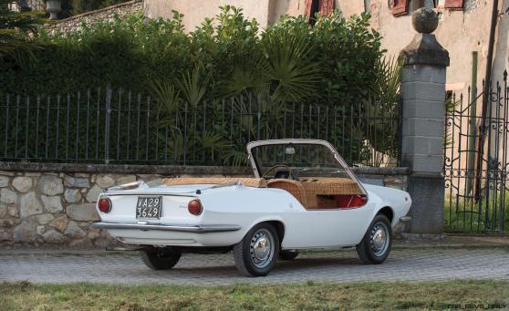 1970 Fiat 850 Spiaggetta by Michelotti 22