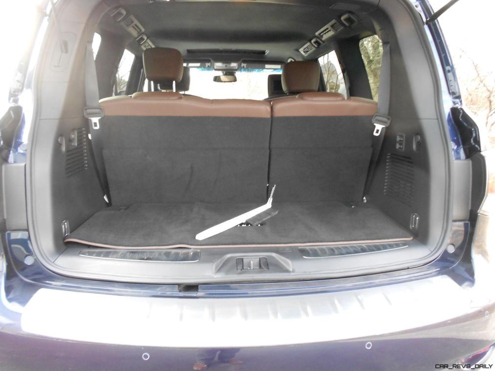 2016 INFINITI QX80 Limited AWD Interior 1