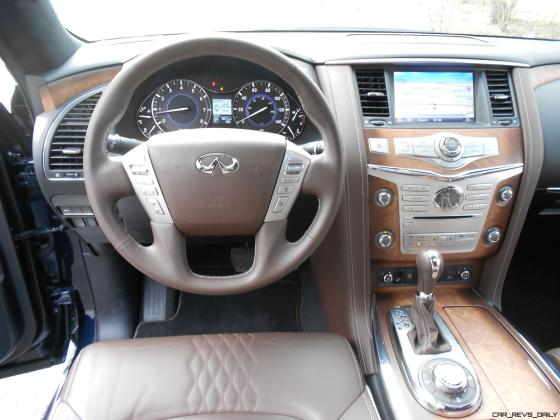 2016 INFINITI QX80 Limited AWD Interior 11
