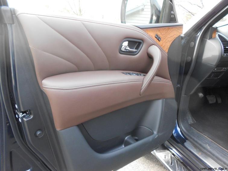 2016 INFINITI QX80 Limited AWD Interior 3
