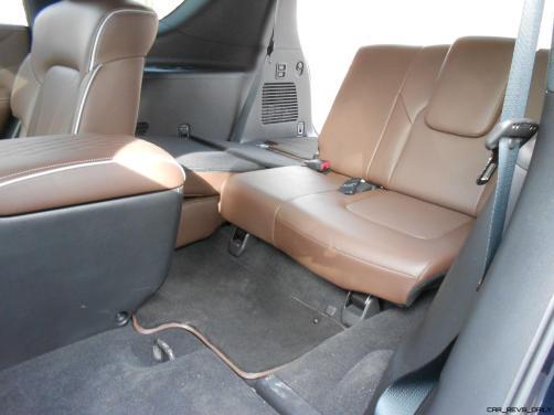 2016 INFINITI QX80 Limited AWD Interior 7