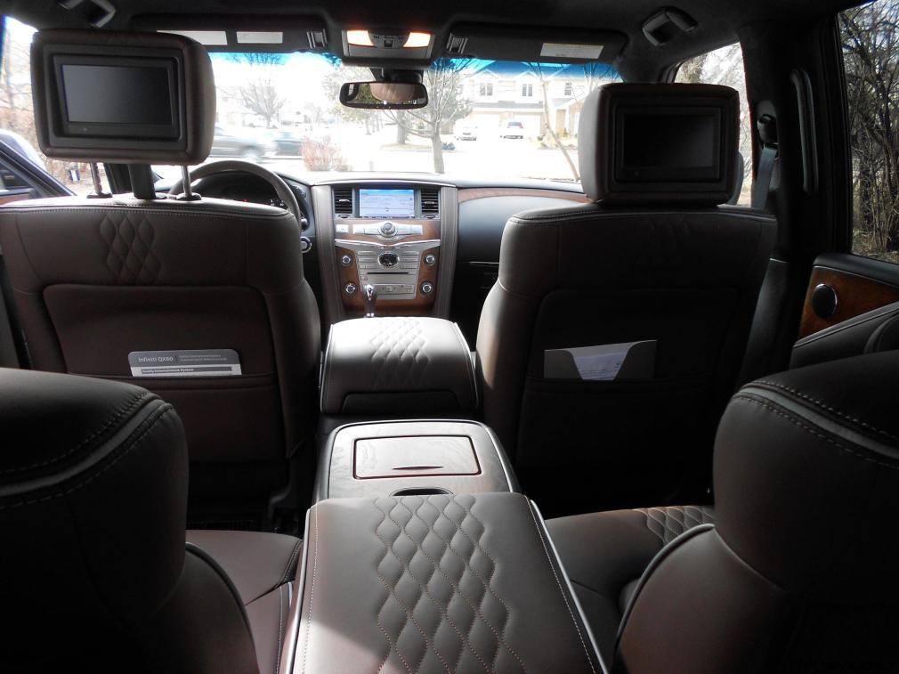2016 INFINITI QX80 Limited AWD Interior 8