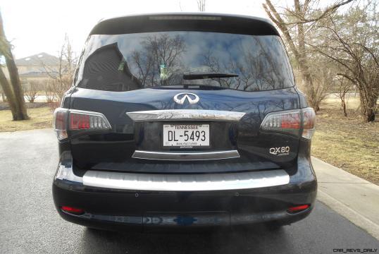 2016 INFINITI QX80 Limited AWD Review - EXTERIOR PHOTOS 7
