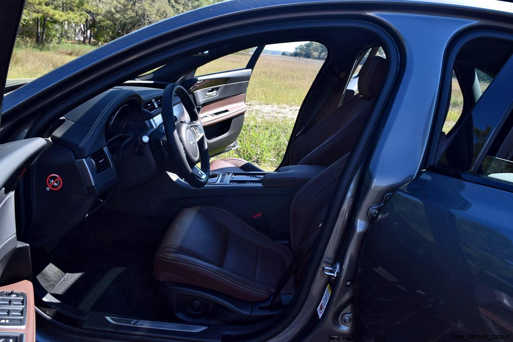 HD Road Test Review 2016 Jaguar XF 35t R Sport RWD
