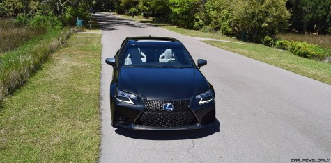 2016 Lexus GS-F Caviar Black 28