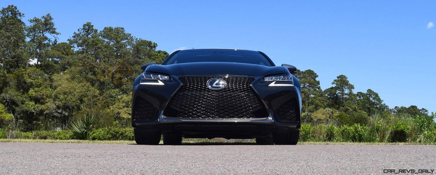 2016 Lexus GS-F Caviar Black 41