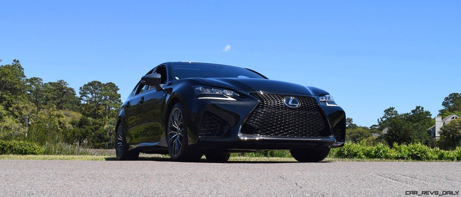 2016 Lexus GS-F Caviar Black 48