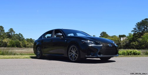 2016 Lexus GS-F Caviar Black 59