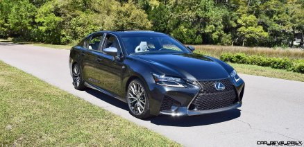 2016 Lexus GS-F Caviar Black 9