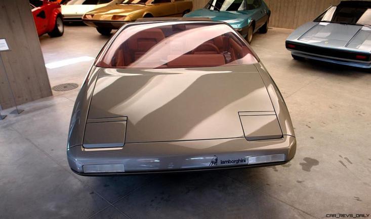 Concept Debrief - 1980 Lamborghini ATHON Speedster by Bertone 1