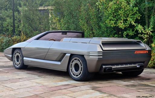 Concept Debrief - 1980 Lamborghini ATHON Speedster by Bertone 14