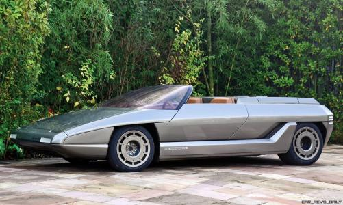 Concept Debrief - 1980 Lamborghini ATHON Speedster by Bertone 16