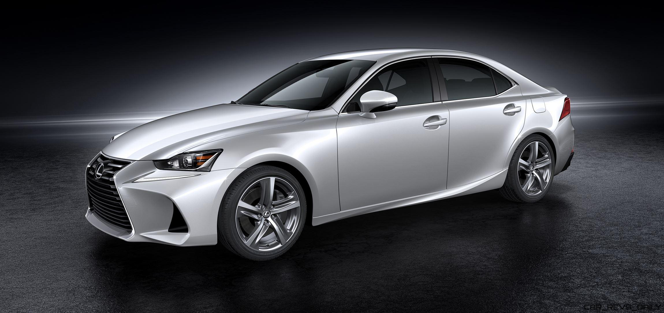2017 Lexus IS Preview New Noses Wilder F Sport Upgrades and
