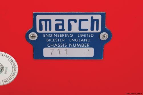 RM Monaco 2016 - 1971 March 711 F1 Car 6