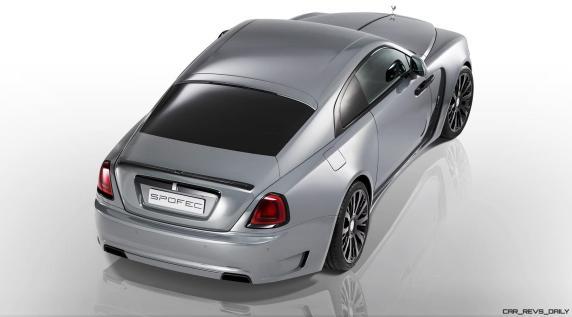 2016 SPOFEC Rolls Royce Wraith OVERDOSE 11
