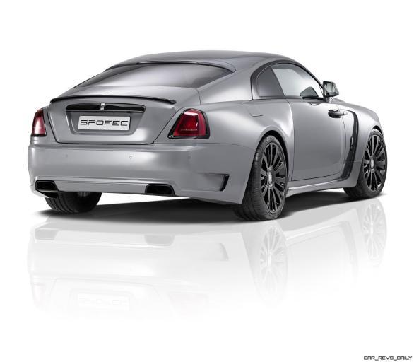 2016 SPOFEC Rolls Royce Wraith OVERDOSE 4