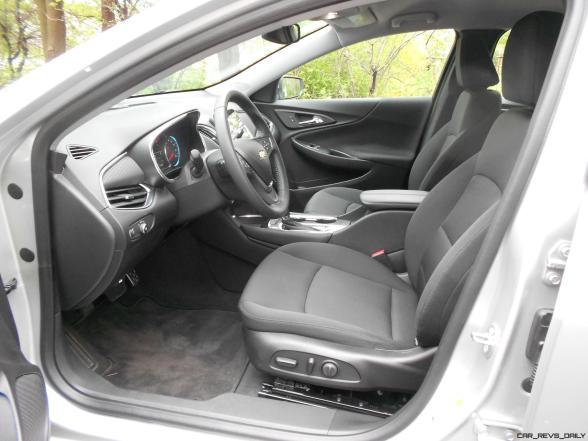 Road Test Review - 2016 Chevrolet MALIBU LT 9