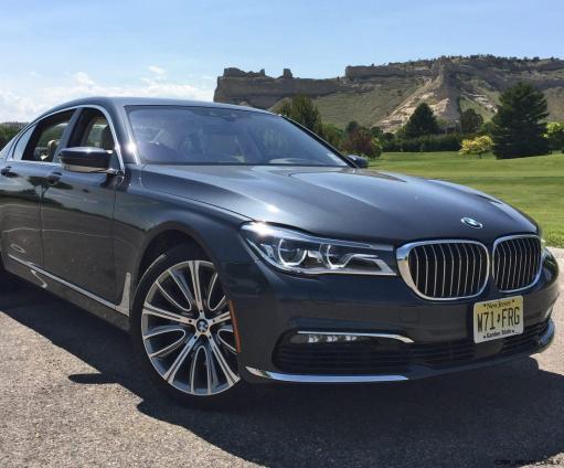 2016 BMW 750i Exterior 4