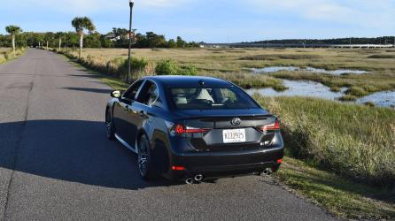 2016 Lexus GS-F Tom Burkart 34
