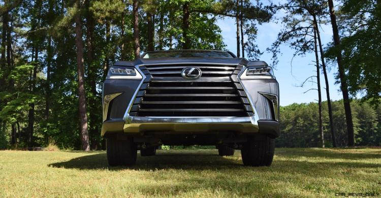 2016 Lexus LX570 - Exterior Photos 48