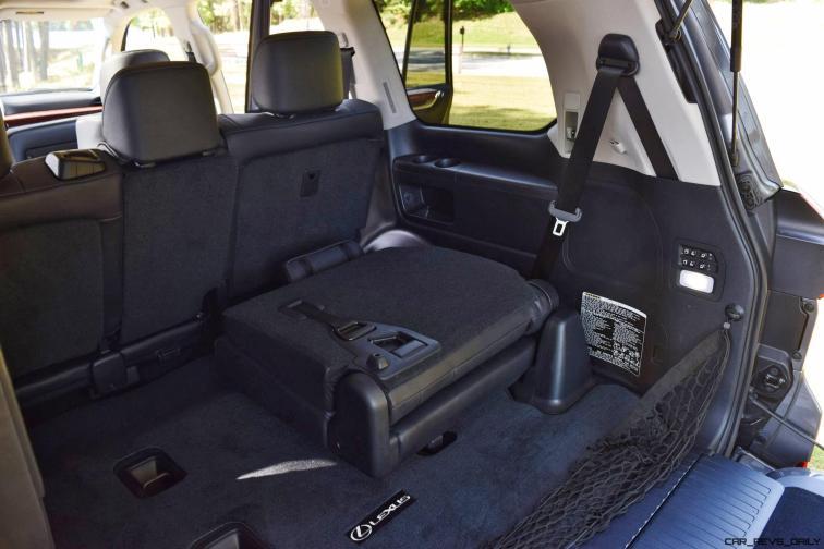 2016 Lexus LX570 Interior Photos 15