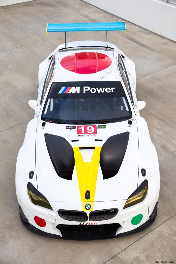 John Baldessari BMW M6 GTLM Art Car #19
