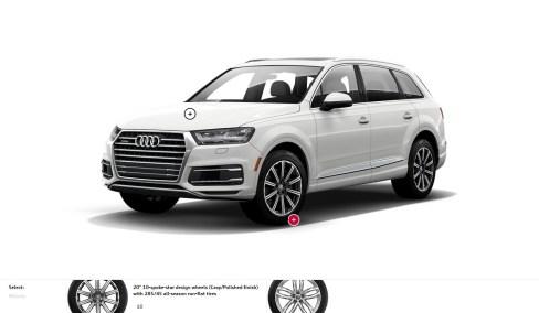 2017 Audi Q7 Colors, Wheels and Interiors 1