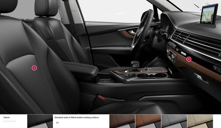2017 Audi Q7 Colors, Wheels and Interiors 18