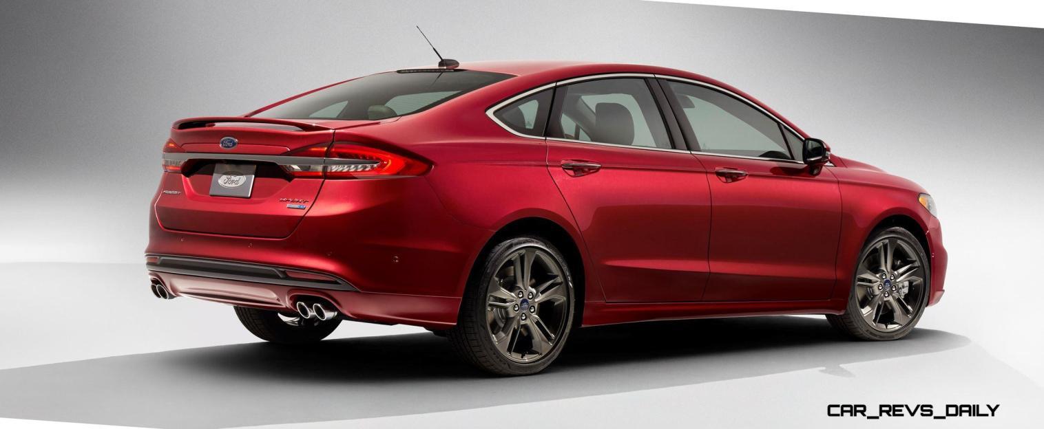 2017 Ford Fusion V6 Sport 5