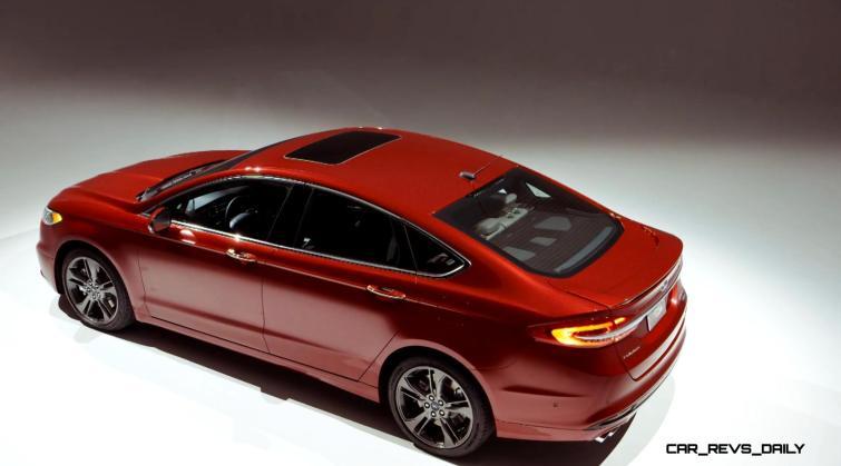 2017 Ford Fusion V6 Sport - Video Stills 7