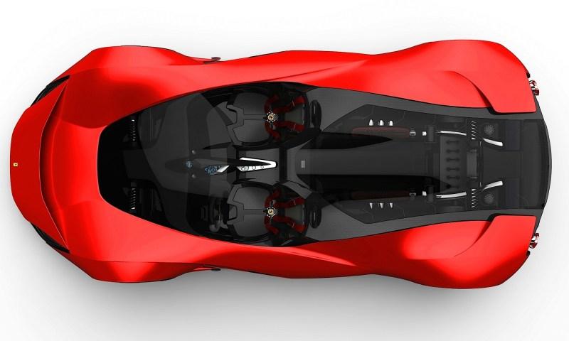 2017 Maserati MC12 Possibly Based on LaFerrari Aliante Spyder by Turin Design Students 22