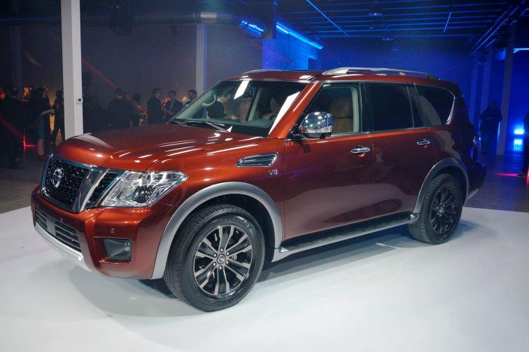 2017 Nissan Armada 8