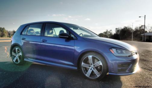 2016 VW Golf R Lapiz Blue by Lyndon Johnson 11