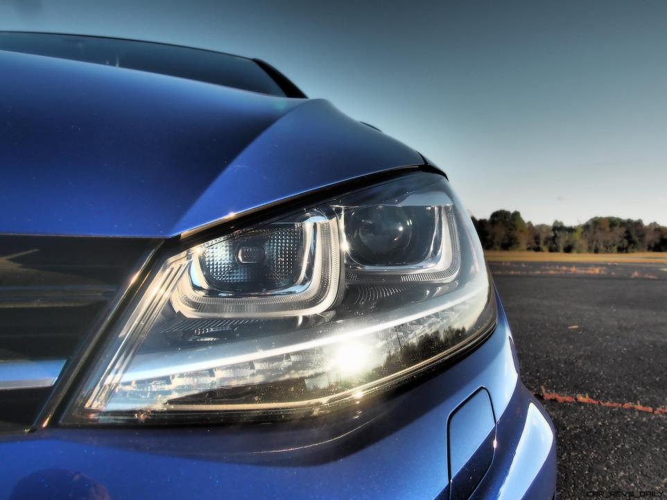 2016 VW Golf R Lapiz Blue by Lyndon Johnson 19